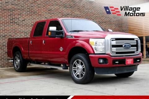 2015 Ford F-250 Super Duty for sale at Village Motors in Lewisville TX