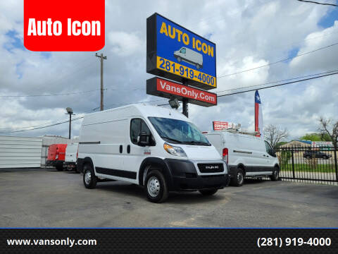 2020 RAM ProMaster Cargo for sale at Auto Icon in Houston TX