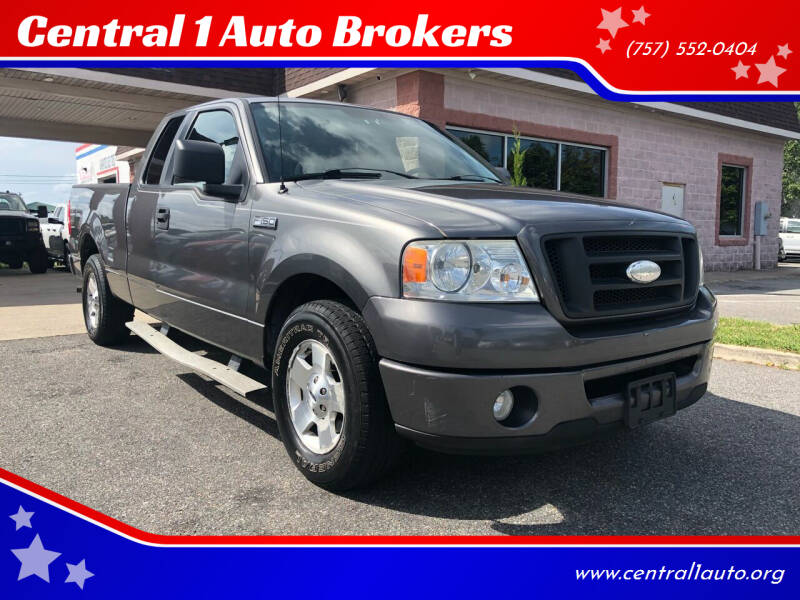 2006 Ford F-150 for sale at Central 1 Auto Brokers in Virginia Beach VA