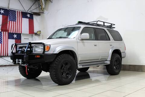 1999 Toyota 4Runner for sale at ROADSTERS AUTO in Houston TX