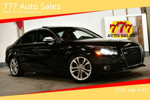 2012 Audi S4 for sale at 777 Auto Sales in Bedford Park IL