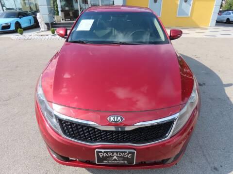 2013 Kia Optima for sale at Paradise Motor Sports LLC in Lexington KY