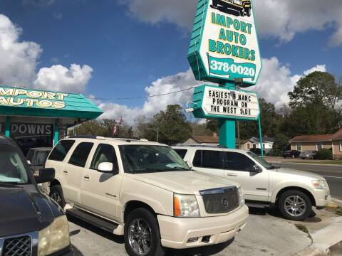 2005 Cadillac Escalade for sale at Import Auto Brokers Inc in Jacksonville FL
