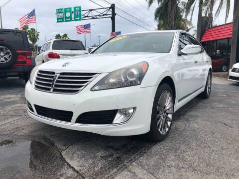 2014 Hyundai Equus for sale at Gtr Motors in Fort Lauderdale FL