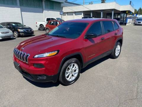 2014 Jeep Cherokee for sale at TacomaAutoLoans.com in Lakewood WA