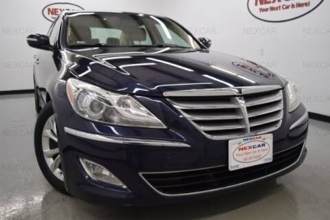 2012 Hyundai Genesis for sale at Houston Auto Loan Center in Spring TX