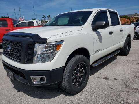 2017 Nissan Titan for sale at VC Auto Sales in Miami FL