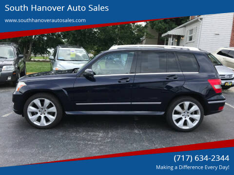 2010 Mercedes-Benz GLK for sale at South Hanover Auto Sales in Hanover PA