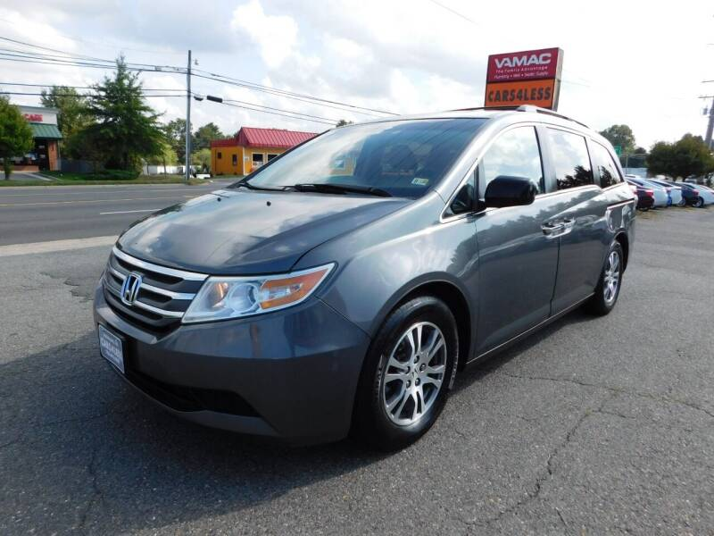 2012 Honda Odyssey for sale at Cars 4 Less in Manassas VA