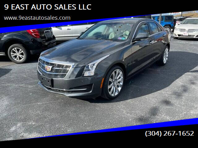 2017 Cadillac ATS for sale at 9 EAST AUTO SALES LLC in Martinsburg WV