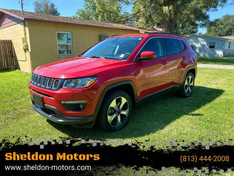2017 Jeep Compass for sale at Sheldon Motors in Tampa FL