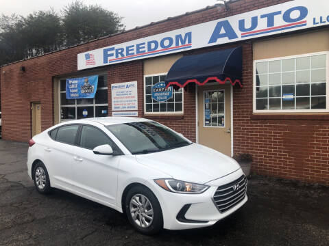 2018 Hyundai Elantra for sale at FREEDOM AUTO LLC in Wilkesboro NC