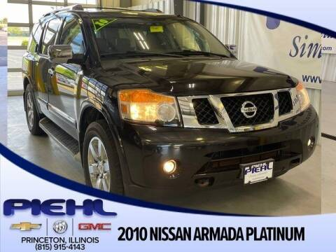 2010 Nissan Armada for sale at Piehl Motors - PIEHL Chevrolet Buick Cadillac in Princeton IL