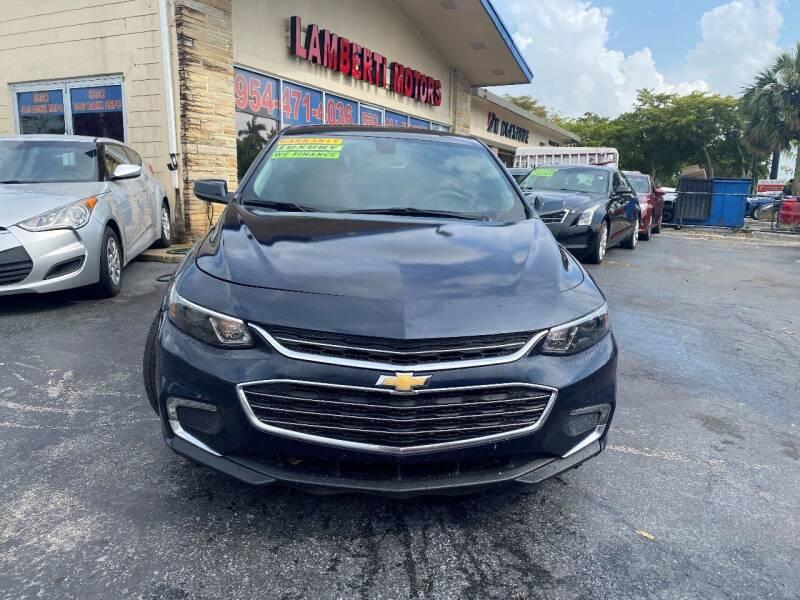 2016 Chevrolet Malibu for sale at Lamberti Auto Collection in Plantation FL