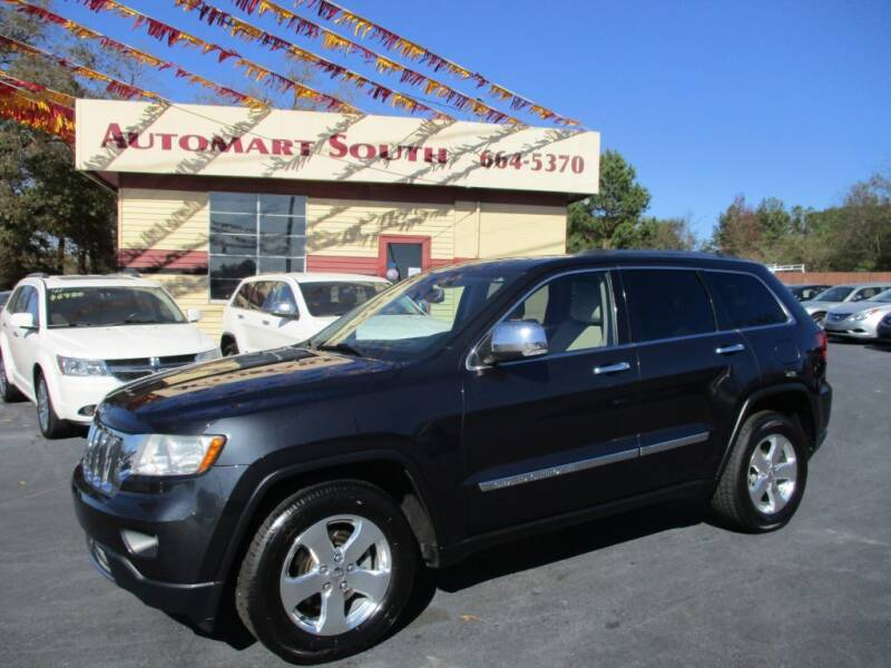 2012 Jeep Grand Cherokee for sale at Automart South in Alabaster AL