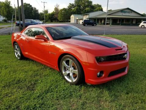 2010 Chevrolet Camaro for sale at Ridgeway's Auto Sales in West Frankfort IL