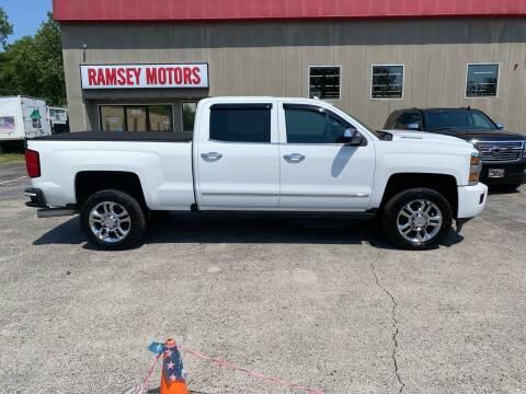 2017 Chevrolet Silverado 2500HD for sale at Ramsey Motors in Riverside MO