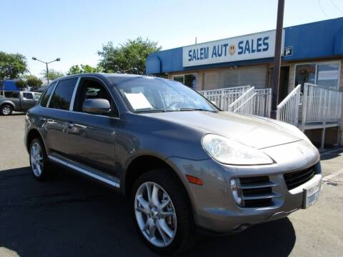 2008 Porsche Cayenne for sale at Salem Auto Sales in Sacramento CA