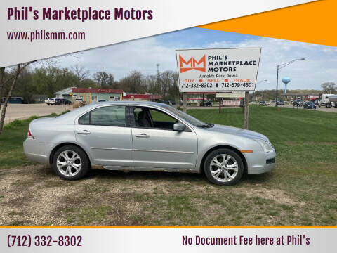 2006 Ford Fusion for sale at Phil's Marketplace Motors in Arnolds Park IA