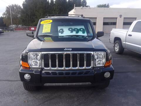 2008 Jeep Commander for sale at Dun Rite Car Sales in Downingtown PA