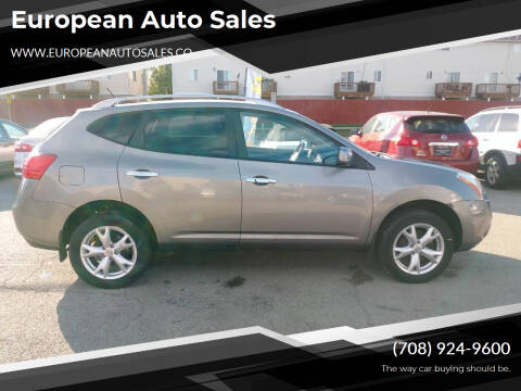 2010 Nissan Rogue for sale at European Auto Sales in Bridgeview IL