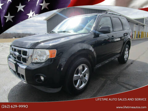 2009 Ford Escape for sale at Lifetime Auto Sales and Service in West Bend WI