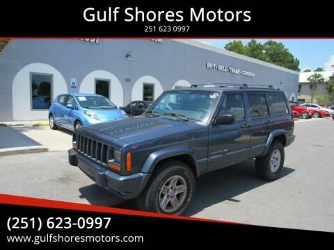 2001 Jeep Cherokee for sale at Gulf Shores Motors in Gulf Shores AL