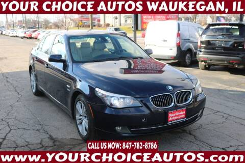 2009 BMW 5 Series for sale at Your Choice Autos - Waukegan in Waukegan IL