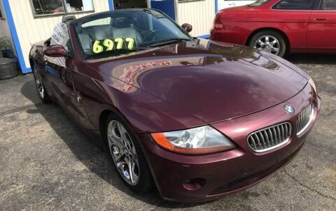 2003 BMW Z4 for sale at Klein on Vine in Cincinnati OH