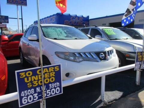 2009 Nissan Murano for sale at CAR SOURCE OKC in Oklahoma City OK