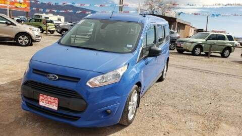 2017 Ford Transit Connect Wagon for sale at Bickham Used Cars in Alamogordo NM