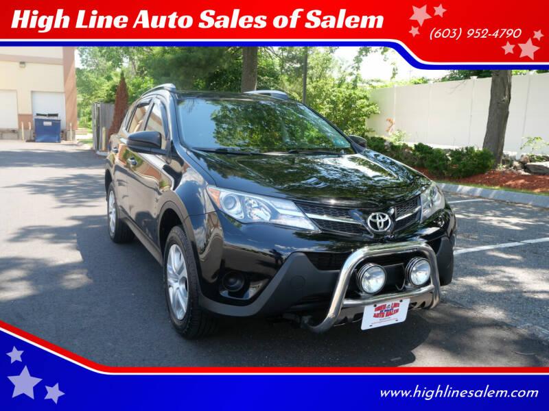 2014 Toyota RAV4 for sale at High Line Auto Sales of Salem in Salem NH