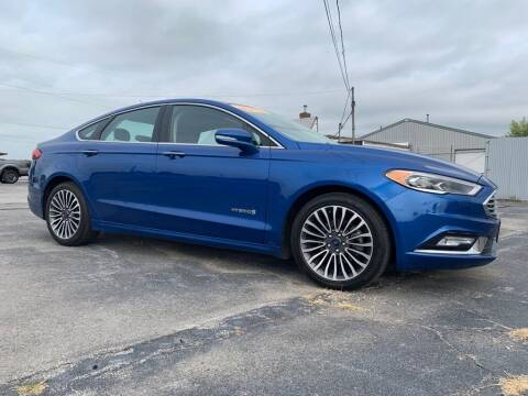 2017 Ford Fusion Hybrid for sale at Access Auto Wholesale & Leasing in Lowell IN
