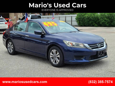 2014 Honda Accord for sale at Mario's Used Cars - Pasadena Location in Pasadena TX