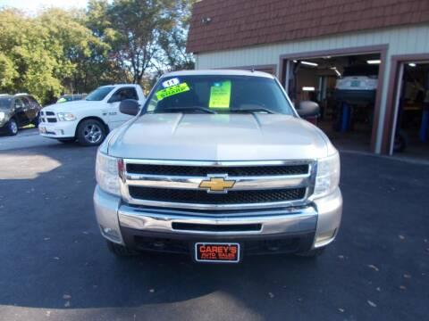 2011 Chevrolet Silverado 1500 for sale at Careys Auto Sales in Rutland VT