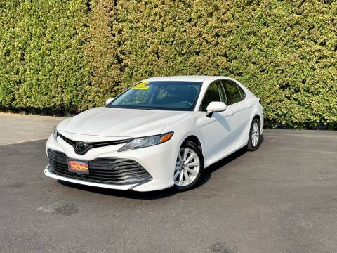 2018 Toyota Camry for sale at Yaktown Motors in Union Gap WA