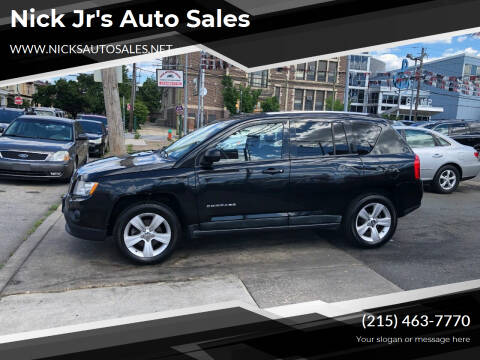 2011 Jeep Compass for sale at Nick Jr's Auto Sales in Philadelphia PA