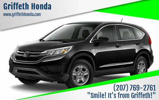 2016 Honda CR-V for sale at Griffeth Honda - Pre Owned in Presque Isle ME