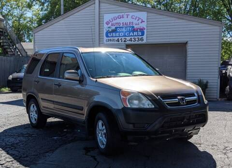 2004 Honda CR-V for sale at Budget City Auto Sales LLC in Racine WI