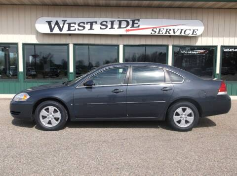 2008 Chevrolet Impala for sale at West Side Service in Auburndale WI
