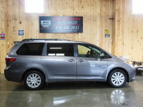 2017 Toyota Sienna for sale at Boone NC Jeeps-High Country Auto Sales in Boone NC