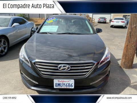 2015 Hyundai Sonata for sale at El Compadre Auto Plaza in Modesto CA