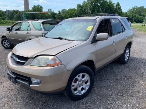 2002 Acura MDX for sale at Trocci's Auto Sales in West Pittsburg PA