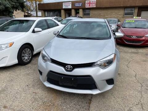 2016 Toyota Corolla for sale at NORTH CHICAGO MOTORS INC in North Chicago IL