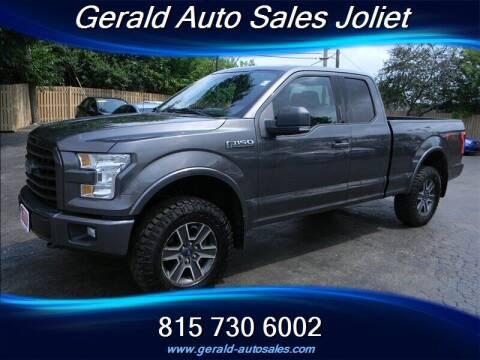 2015 Ford F-150 for sale at Gerald Auto Sales in Joliet IL