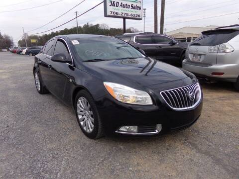 2011 Buick Regal for sale at J & D Auto Sales in Dalton GA