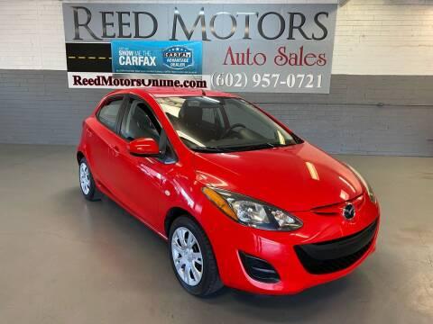2013 Mazda MAZDA2 for sale at REED MOTORS LLC in Phoenix AZ