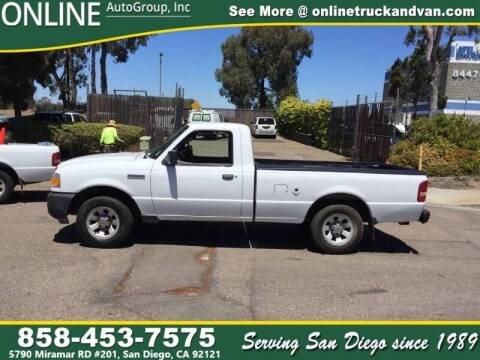 2011 Ford Ranger for sale at Online Auto Group Inc in San Diego CA