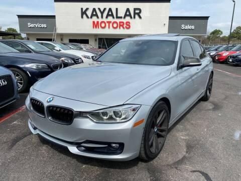 2014 BMW 3 Series for sale at KAYALAR MOTORS in Houston TX