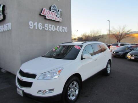 2011 Chevrolet Traverse for sale at LIONS AUTO SALES in Sacramento CA